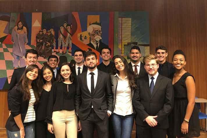 Equipe da Solucione Consultoria Jurídica, Empresa Júnior da Faculdade de Direito da UFMG