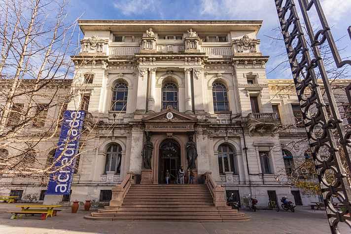 A Universidad de La República, localizada no Uruguai, integra a chamada