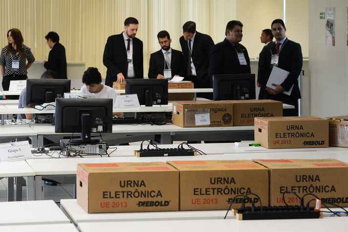 Teste público de segurança das urnas eletrônicas