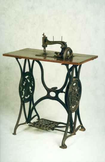 Máquina de costura é um dos objetos que serão expostos
