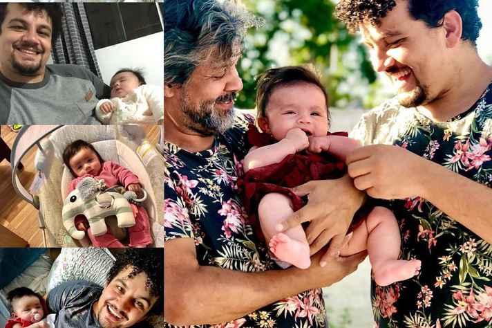 Depois de 4 anos da lista de espera, em abril de 2021, Cícero Daniel Almeida Silva e Edilson Ferreira conseguiram finalmente adotar uma criança