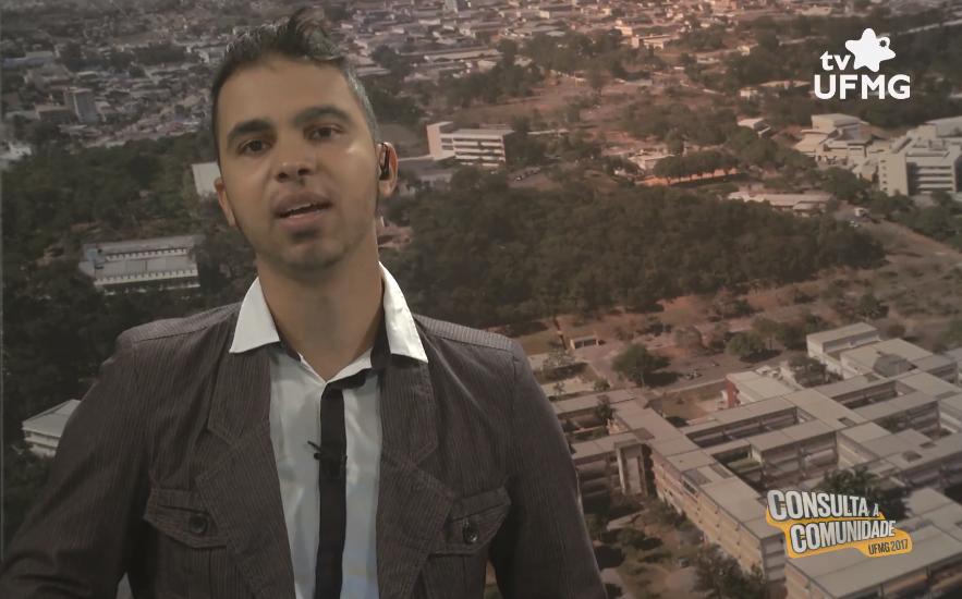 As entrevistas da TV UFMG foram conduzidas pelo jornalista Ruleandson do Carmos