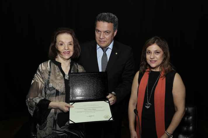Maria Lúcia Godoy, Jaime Ramírez e Mônica Pedrosa