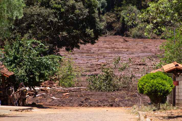 Rompimento da barragem da mineradora Vale em Brumadinho ocorreu no último dia 25 de fevereiro