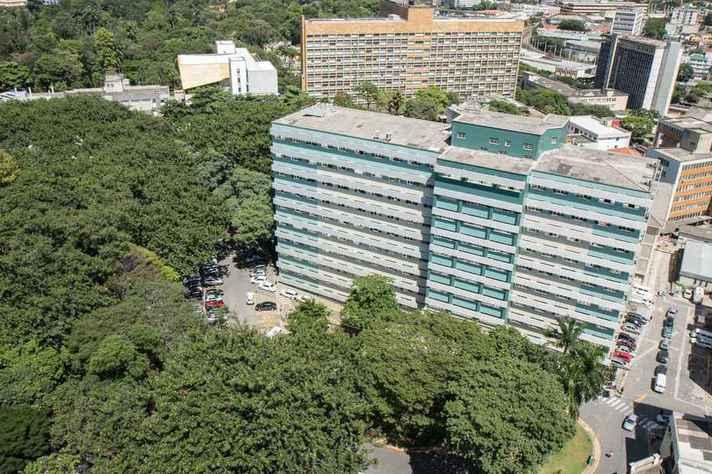 Vista do prédio da Faculdade de Medicina da UFMG