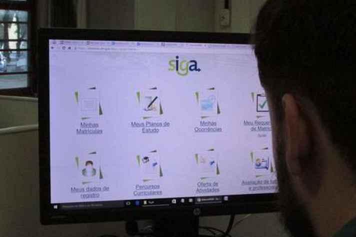 Matrículas são feitas pelo SiGA