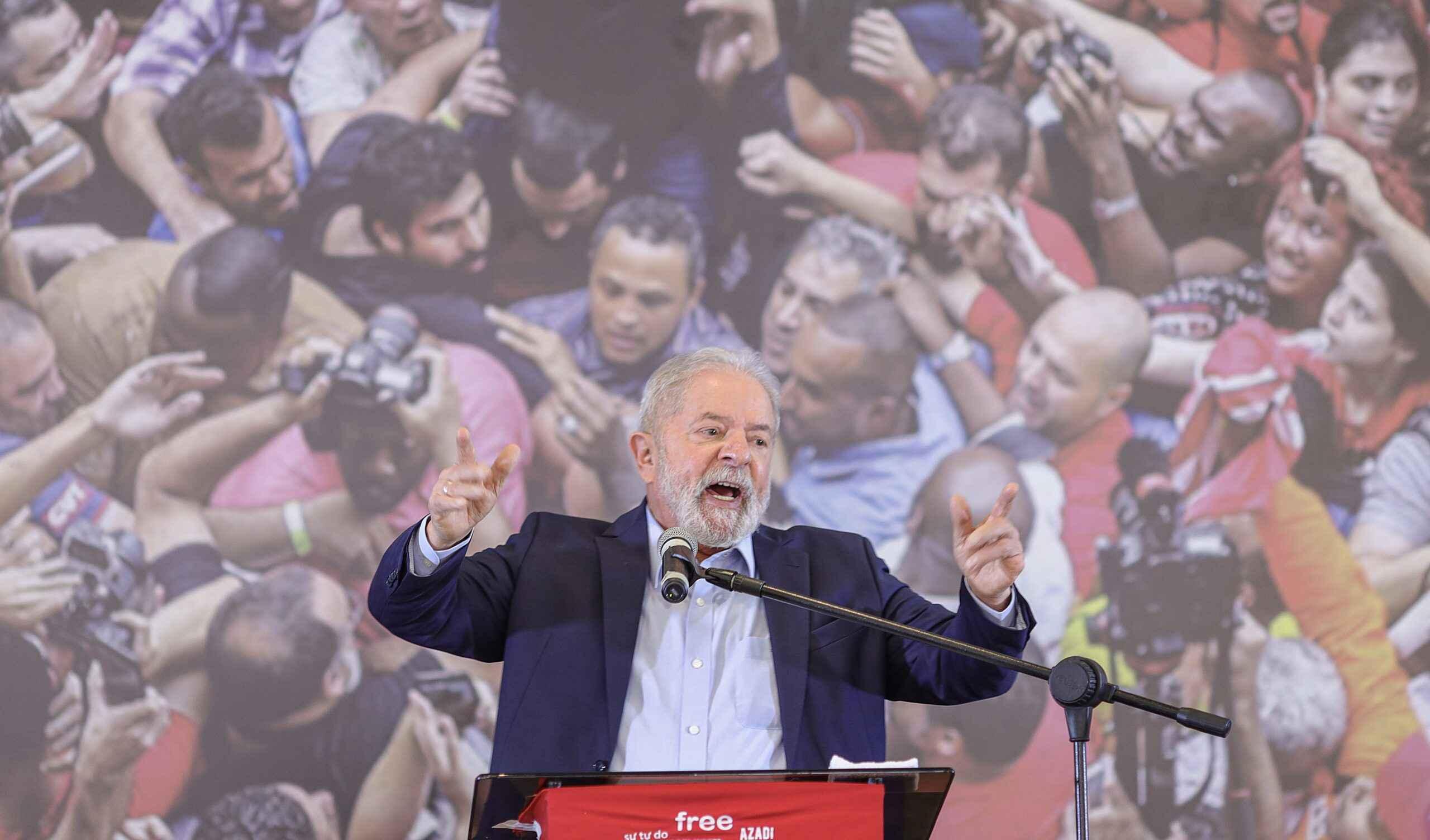 Lula, em primeiro pronunciamento após anulação das sentenças pelo STF