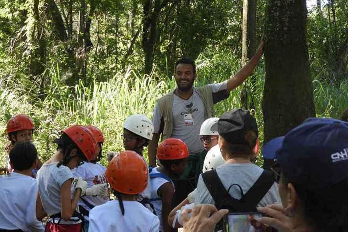 Estação Ecológica garante aprendizagem e diversão às crianças durante as férias