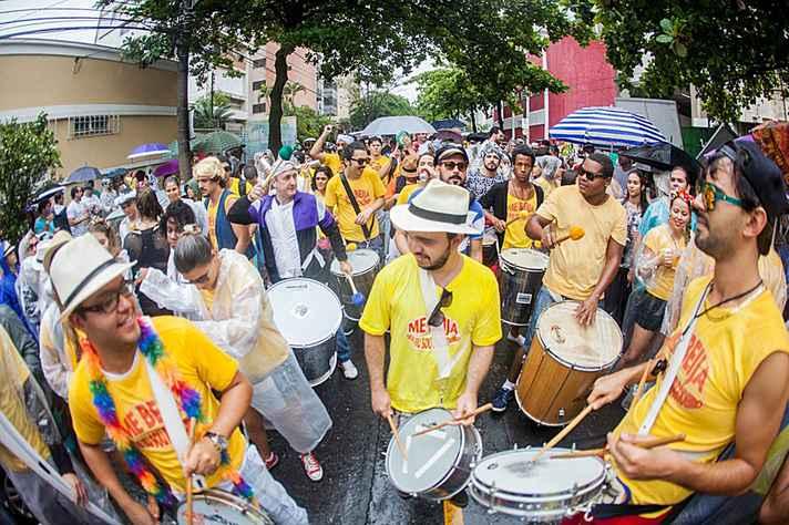 Blocos se espalham por Belo Horizonte no Carnaval de 2018