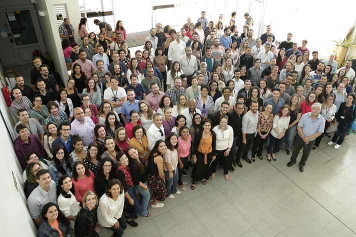 Em março deste ano, novos professores da UFMG participaram de apresentação sobre estrutura da UFMG