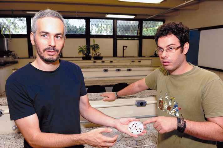Alberto Teixido e Fernando Silveira: meta está longe de ser batida