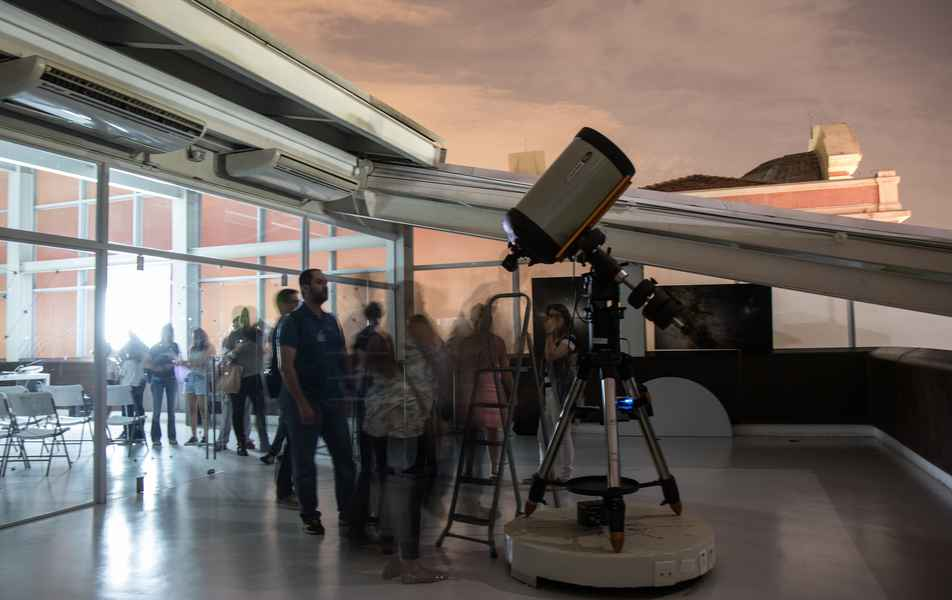 Terraço Astronômico do Espaço do Conhecimento UFMG