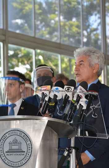 Marcos Pontes defendeu o descontingenciamento do orçamento do FNDE