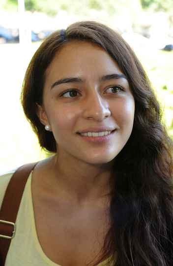 Lina Alvarez, da Colômbia: cinco meses conhecendo a cultura do Brasil