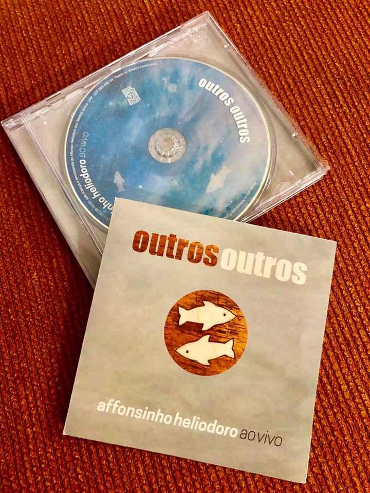 'Outros outros' é o 15º disco da carreira de Affonsinho