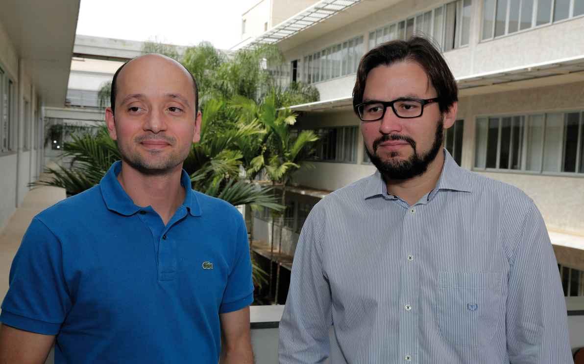 Marcelo Costa e Raoni Rajão, dois dos autores do artigo: necessidade de rever custos e benefícios do cadastramento rural